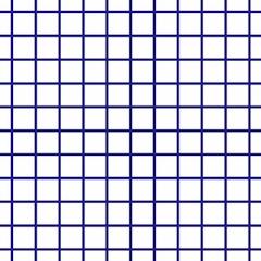 Bold Minimalist Print Blue White