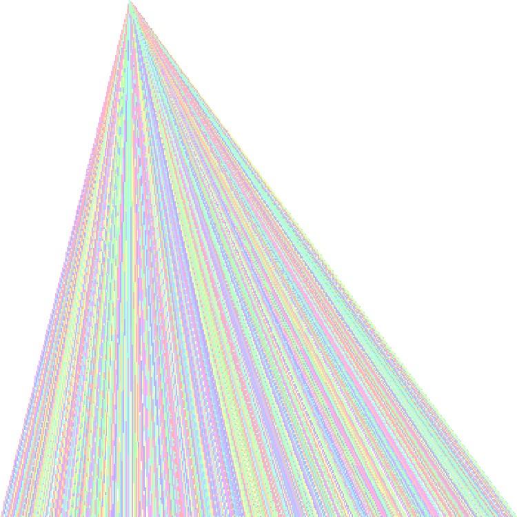 New Work - Pastel Glitch Art