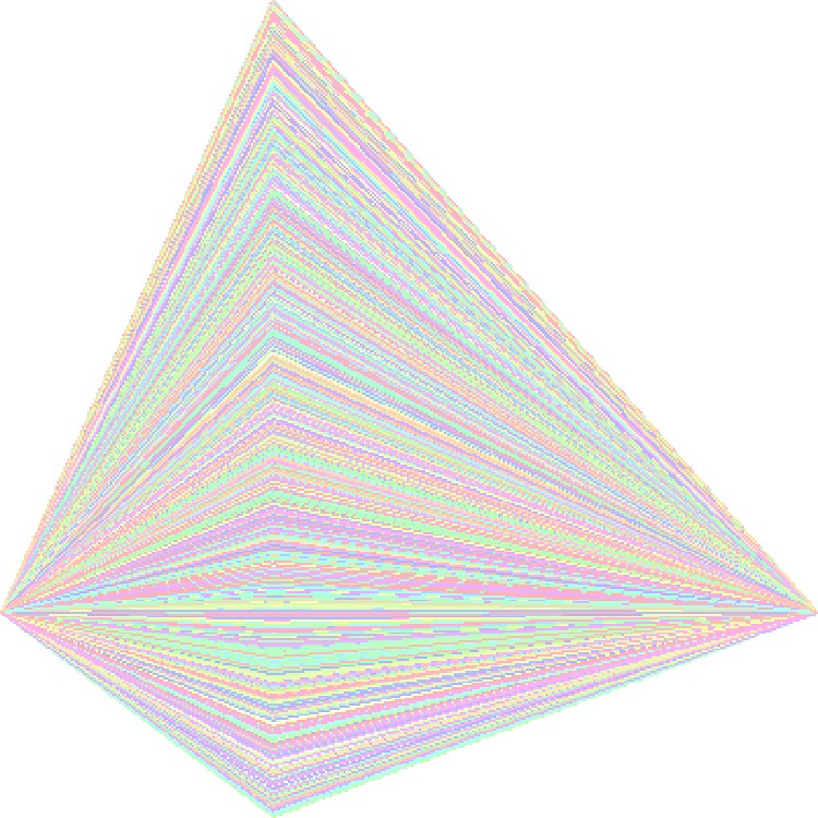 New Work - Pastel Glitch Art